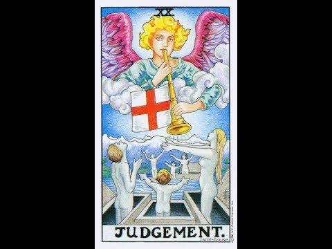 Урок 21 - старший аркан Суд