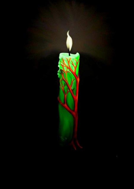 свечи обряд на финансы