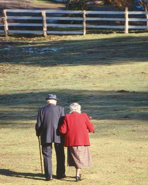 приснилась бабуля с дедулей